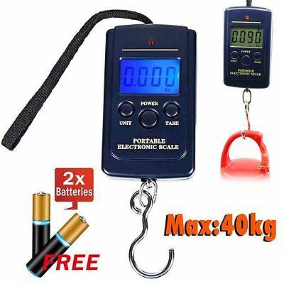 40 KG Digital Luggage Scale Electronic Portable Travel Measures Weight Weighing