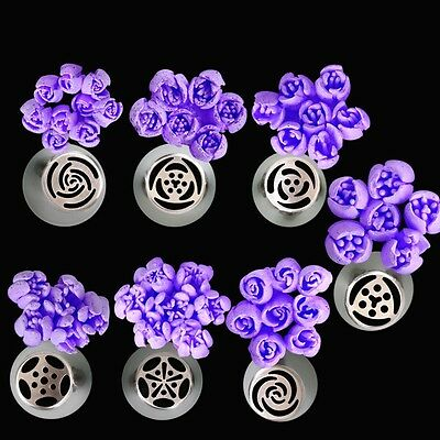 NEW Arrival Flower Decor Icing Piping Nozzles Tips Pastry Cake Baking Tool UK
