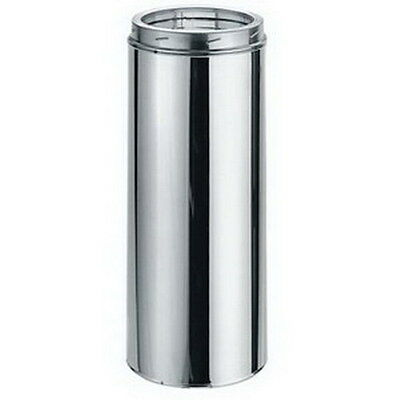 """Dura-Vent 9404 DuraTech Steel Galvanized All Fuel Pipe Length Chimney Pipe, 18"""""""