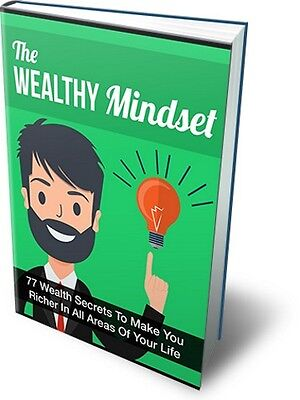 The Wealthy Mindset Free Shipping ebook Full Resell Right PDF