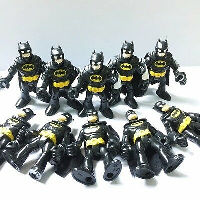 10PCS DC SUPER FRIENDS IMAGINEXT BATMAN Justice League Heroe ACTION FIGURE HA92
