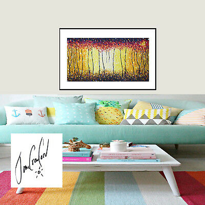 A1 FOR FRAME  aboriginal art painting landscape print jane crawford