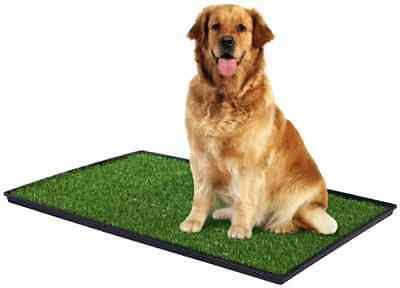 """Dog Potty Training Pee Turf Grass Pad Indoor Pet Patch Large 41"""" Mat Trainer Pup"""