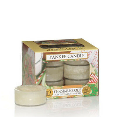 Yankee Candle Christmas Cookie Tea Lights Scented Candles