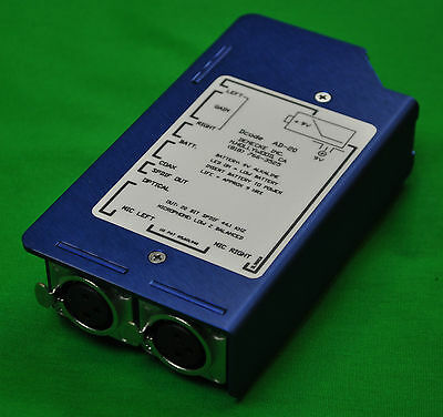 DENECKE AD 20 Preamp with digital out