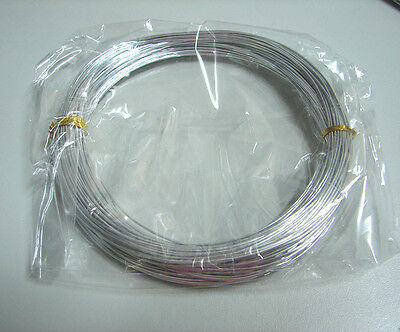 1.0 mm aluminium wire for Jewellery making wire wrapping  length 10m + 20m