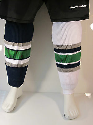 Ice Hockey Socks Classic Vancouver Canucks ONLY JUNIOR SIZE LEFT