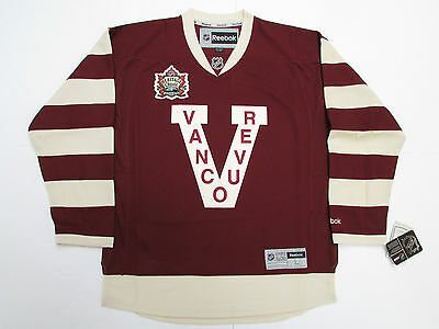 Vancouver Canucks 2014 Heritage Classic Reebok Premier Hockey Jersey