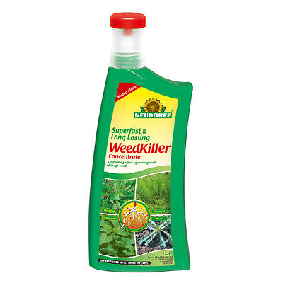 Superfast and Long Lasting Weedkiller Concentrate 1 Litre Neurdorff