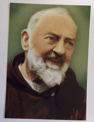 Padre Pio Postcard/ Image,  from Italy New