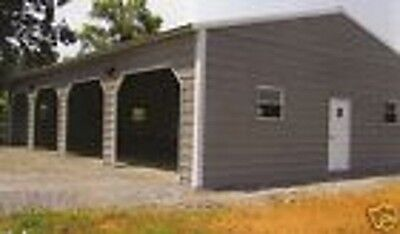 4 BAY IMPERIAL GARAGE 30x50x9    All Steel    FREE DELIVERY & INSTALLATION!!