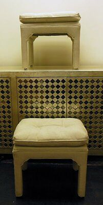 Pr Parsons Benches Stools  '70-80's Hollywood Glam