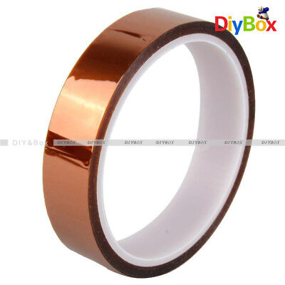 20mm 2cm X 30M 100ft Tape High Temperature Heat Resistant Polyimide D