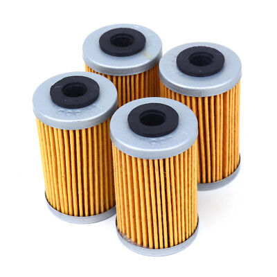 4 * Oil Filters Cleaner For KTM 250 EXCF SXF XCF 450 EXC SMR 500 XCW 690 Enduro