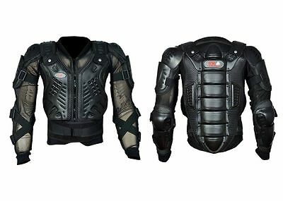 adult Body Armour Motorcycle Motorbike Motocross spine Protector Guard Jacket