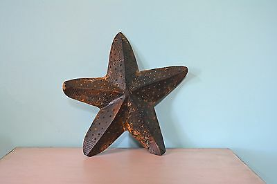 Gorgeous Distressed Heavy Metal Starfish!!