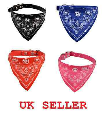 Dog Cat Bandana Accessories Adjustable Necktie Collar UK Bowtie Pet Bow tie New