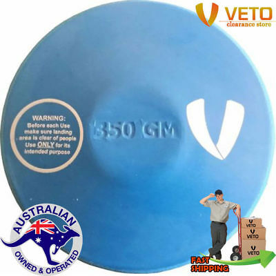 350g Sports Rubber Discus School Athletics Competition Throw Equipment Training