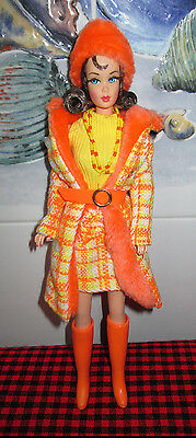 New+Deboxed~Barbie 1969 Repro Doll+1881 Fashion~*made For Each Other*~Gold Label