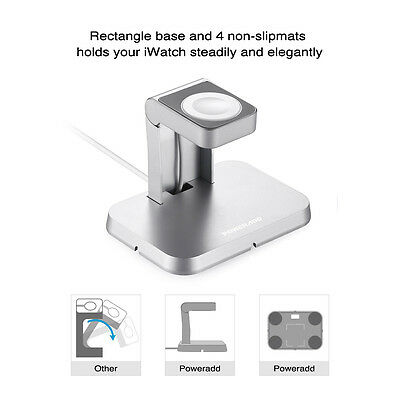 Magnetic Charger Charging Cable(1m) & Stand for iWatch Apple Watch 38mm & 42mm