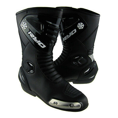 New Professional Motorcycle Sport Motorbike Racing Leather Boots Motocross Shoes
