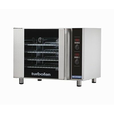 Turbofan E31D4 Electric Convection Oven 95Lt 4 x 1/1 GN Pan Capacity Chef
