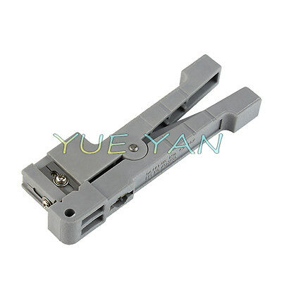 Ideal 45-162 Coaxial Cable Stripper Fiber Optic Stripper Extra One Blade