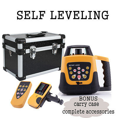 203R Latest Electronic Self-Leveling Rotary Red Beam Laser Level Automatic 500M