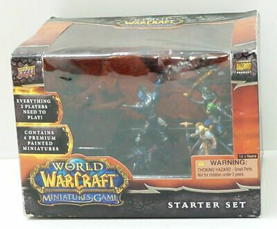 WORLD of WARCRAFT Miniatures games STARTER SET nuovo in BOX