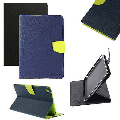 Custodia Pelle Per Apple iPad Mini 1 / 2 / 3 Carte Case Mercury