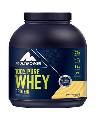 21,95€/kg - Multipower 100%* Pure Whey Protein Eiweiss 2kg Dose