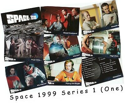 Space 1999 Series 1: 54 Card Basic/Base Set - Unstoppable Cards
