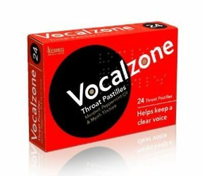 Vocalzone Throat Pastilles (24 Pastilles)**Free Delivery**