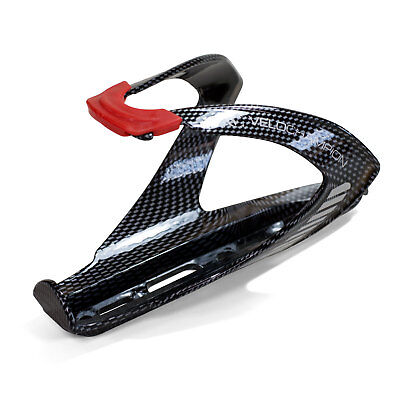 VeloChampion FibreCarbon Bike Water Bottle Cage with Carbon Fibre Look