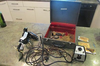 Vintage Optical Collectible Medical Binocular Ophthalmoscope in Case