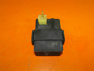 Honda CBR125R 2004 CDI / ECU Unit and Rubber Mounting  (CI 783)