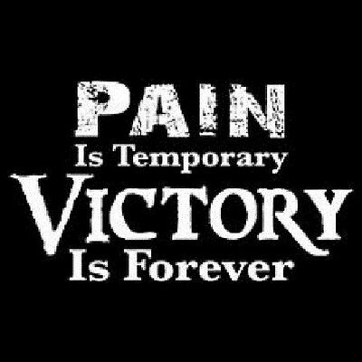 Victory Is Forever T Shirt All Sizes & Colors (255)