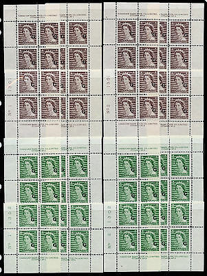 Canada #O33/O44 Nearly complete choice VF NH M/S of Karsh & Wilding PBs CV $1024