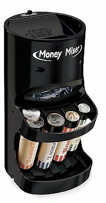 Money Coin Sorter Electric Motorized Change Wrapper Roller Counter Machine
