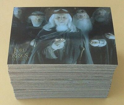 2004 Topps The Lord Of The Rings Chrome Trilogy Trading Card Set