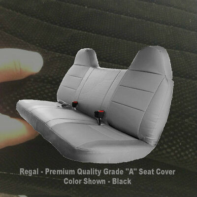 Brilliant Black Bench Seat Cover Molded Headrest Custom Fit F Series Caraccident5 Cool Chair Designs And Ideas Caraccident5Info