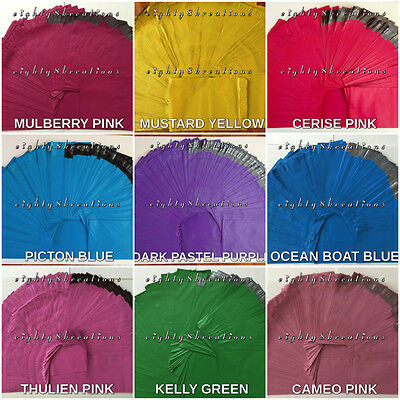 MIXED LOT Colors 12x15.5 Flat Poly Mailers Shipping Postal Package Envelope Bags