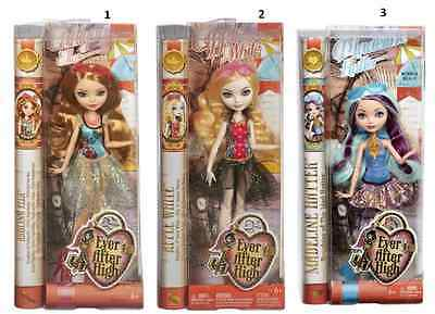 Ever After High Dolls Mirror Beach Madeleine Hatter Ashlynn Ella Apple White New