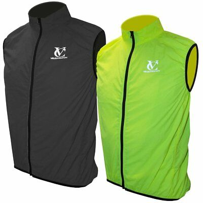 VeloChampion Men's Cycling Gilet for All Seasons with Temperature Regulation