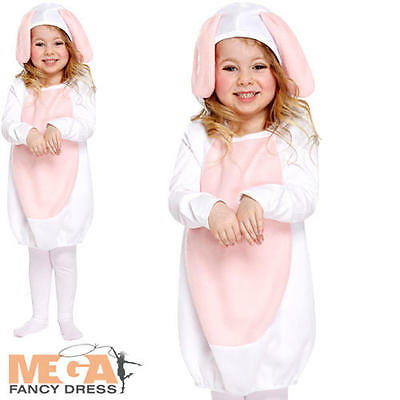Cute Rabbit Toddler Fancy Dress Easter Bunny Animal Girls Costume Outfit 3 Years