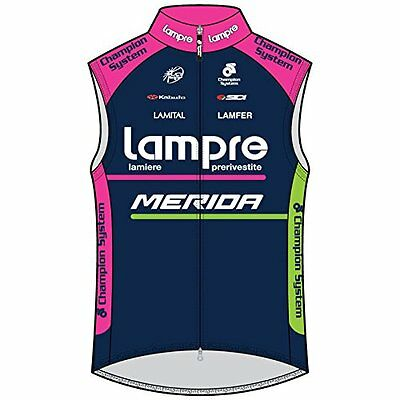 Champion System Lampre-Merida Wind Guard Vest Cycling Gilet GENUINE