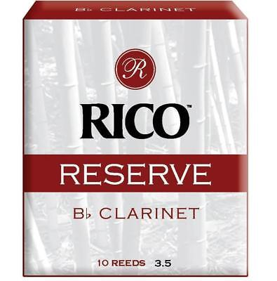 Rico Reserve Bb Clarinet Reeds - #3.5 (Pack of 2)