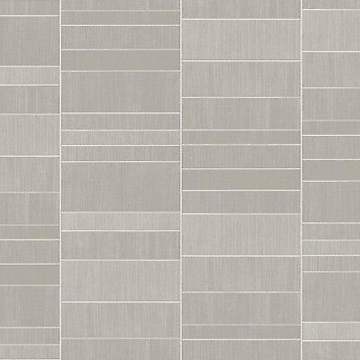 VOX Modern Decor Silver Tile Panels 4 Pack Bathroom Shower PVC Cladding Wet Wall