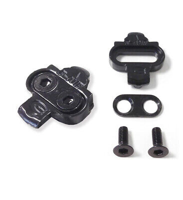 VeloChampion Shimano Compatible SPD Pedal Cleat Set - for SPD shoes/MTB pedals