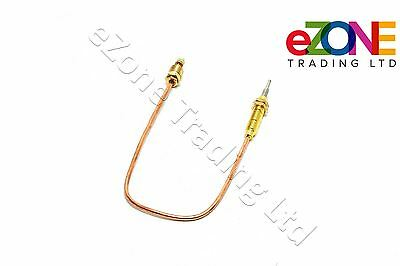 Thermocouple 300mm Threaded Shank for BURCO LPG Gas Hot Water Tea Boiler